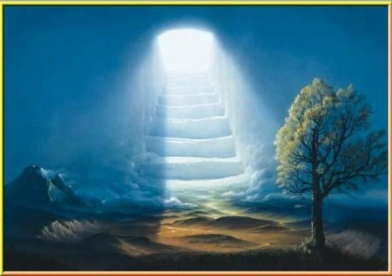 escalier tombeau